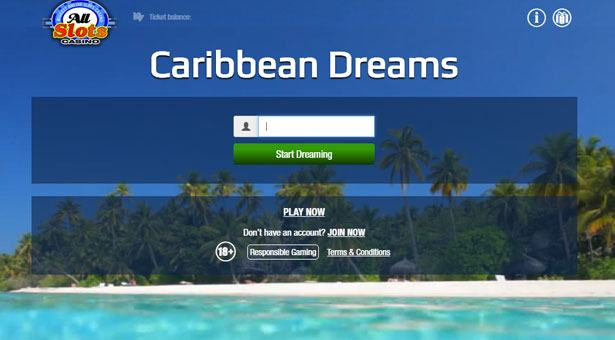 Win Caribbean Dreams Trip with All Slots Casino