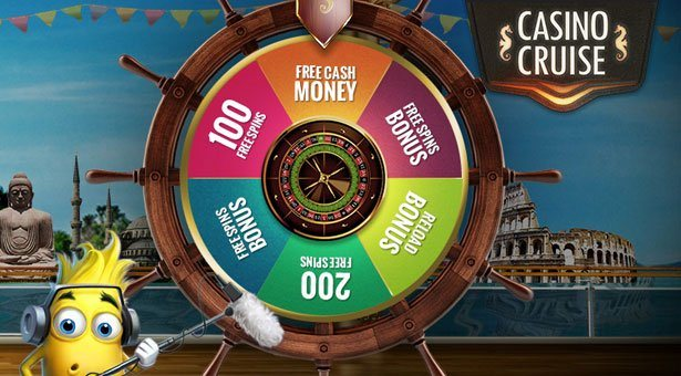 Wheel of Fortune Promo at Microgaming Casino