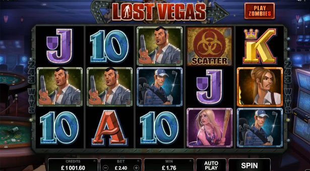 Microgaming Plans Lost Vegas Zombie Slot