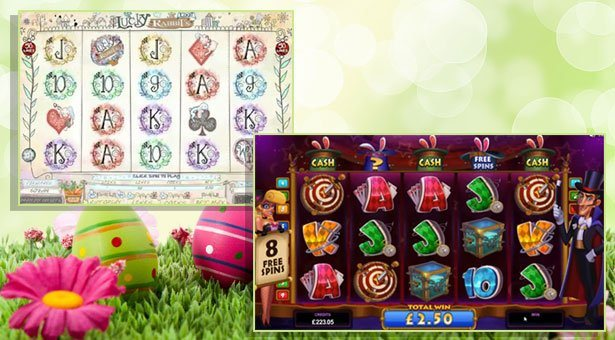 Easter Themed Slots at Microgaming Casinos