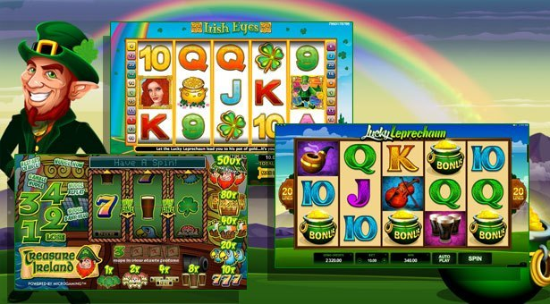 Celebrate St Paddy's Day at Microgaming Casinos