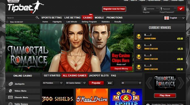 Tipbet Casino Has Been Launched